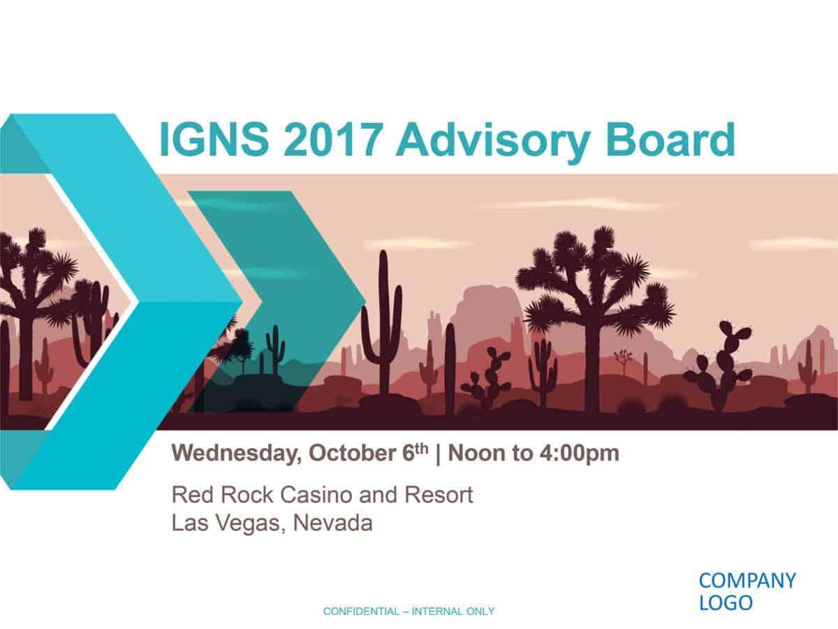 Advisory Board Presentation 1