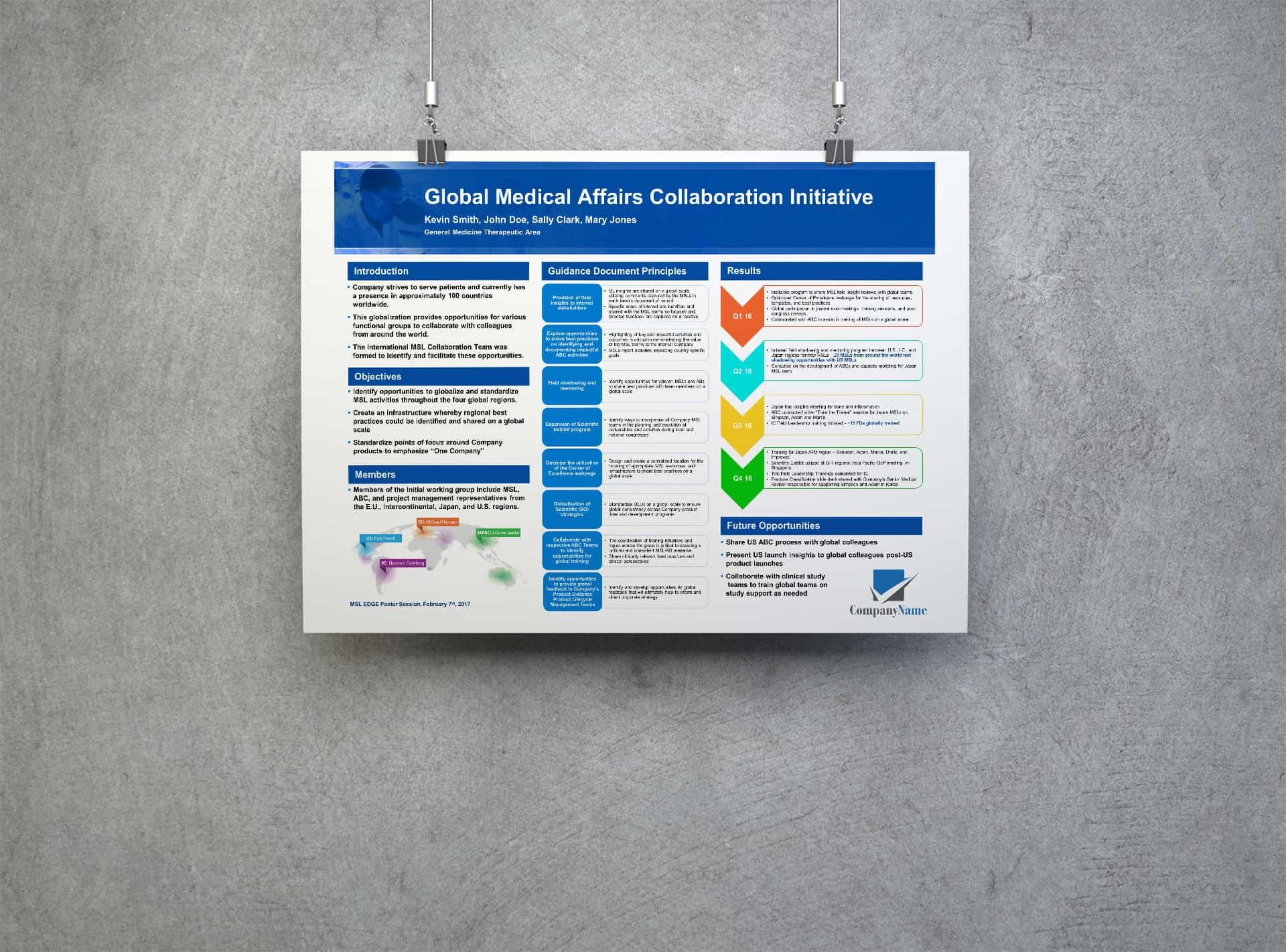 Pharma Poster Design Internal