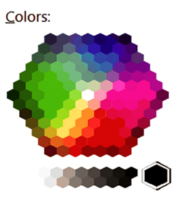 Projection Screen Colors
