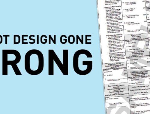 Ballot Design Gone Wrong